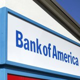 A Bank of America sign is pictured in Encinitas, California January 14, 2014. Bank of America will report fourth quarter earning January 15.