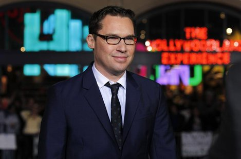 "Director of the movie Bryan Singer poses at the premiere of ""Jack the Giant Slayer"" in Hollywood, California February 26, 2013. The movie op"