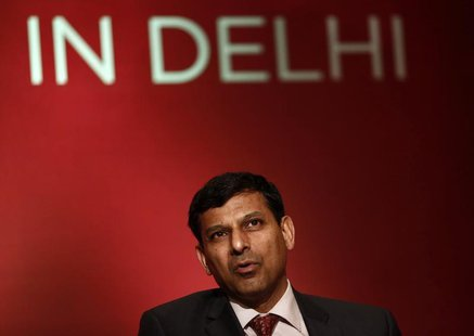 Reserve Bank of India (RBI) Governor Raghuram Rajan attends a seminar organised by the University of Chicago in New Delhi March 28, 2014. RE