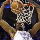 Oklahoma City forward Kevin Durant REUTERS/Bill Waugh