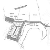 Initial proposal of Point West marina site (courtesy Park Twp.)