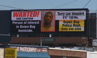 If you have any information or see Terry Lee Shepard, call Green Bay police at (920) 448-3208. (Photo from: FOX 11).