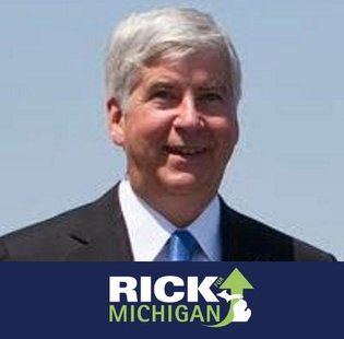 Rick Snyder wants 4 more years.