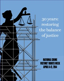 National Crime Victims' Rights Week 2014.