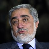 Afghan presidential candidate Abdullah Abdullah speaks during an interview in Kabul April 13, 2014. REUTERS/Mohammad Ismail