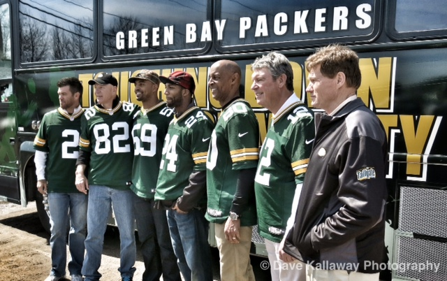 A bunch of group photos this week..from Ironwood and Escanaba to here in Merrill!! Mason Crosby, Paul Coffman, Brad Jones, Jarrett Bush, James Lofton, Lynn Dickey and Pres. Mark Murphy!!