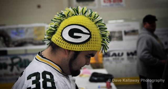 Packer Fans are the kings of head gear....