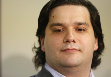 Mark Karpeles, chief executive of Mt. Gox, attends a news conference at the Tokyo District Court in Tokyo February 28, 2014. REUTERS/Yuya Sh