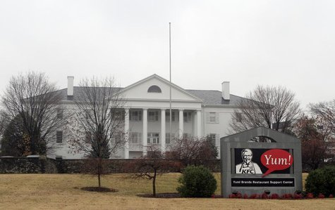 A view shows Yum Brands Inc's corporate headquarters in Louisville, Kentucky January 18, 2011. REUTERS/John Sommers II