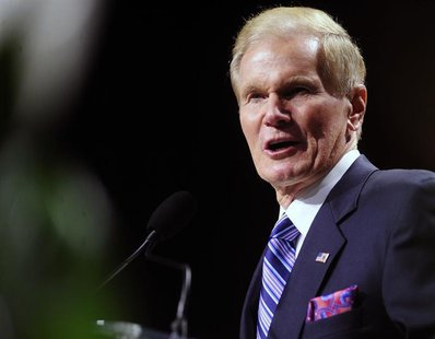 U.S. Senator Bill Nelson (D-FL) speaks to the 2013 National Association for the Advancement of Colored People (NAACP) convention in Orlando,