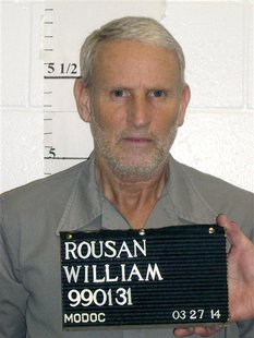 Missouri death row inmate William Rousan, 57, is seen in a March 27, 2014 photo released by the Missouri Department of Corrections. REUTERS/