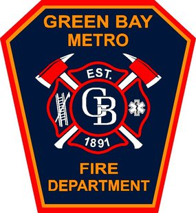 Green Bay Metro Fire Department logo (Photo from: Facebook).