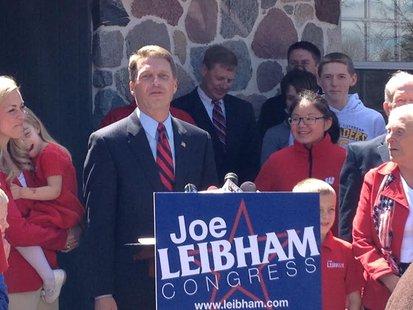 Leibham prepares for congressional run