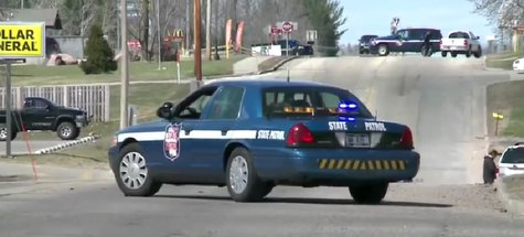 Authorities respond to hostage situation in Wittenberg on Tuesday April 22, 2014. (Photo from: YouTube/FOX 11).