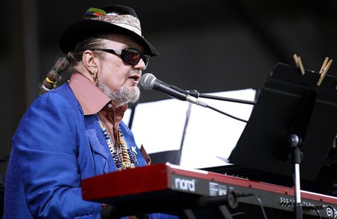 Musician Dr. John performs during the New Orleans Jazz and Heritage Festival in New Orleans, Louisiana in this file photo taken April 26, 20