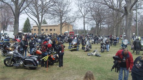 Lakeshore Blessing of the Bikes 2014