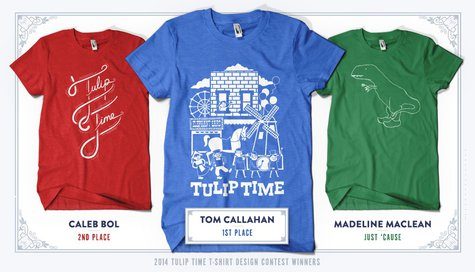 Tulip Time T-Shirt Winners 2014