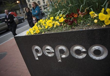 A general view of the exterior of the Pepco Holdings Inc corporate headquarters in Washington, March 30, 2012. REUTERS/Jonathan Ernst