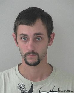 Justin Baker (Photo from: Door County Sheriff's Office)