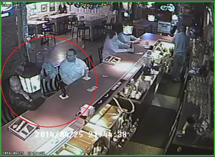 These three men may have committed thefts at area taverns April 25, 2014.