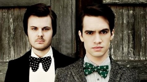 Image courtesy of Panic! at the Disco; Brandon Urie, right/Fueled by Ramen (via ABC News Radio)