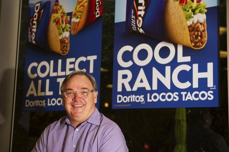 Taco Bell CEO, Greg Creed, poses for a photo at the Taco Bell Headquarters in Irvine, California on March 8, 2013. REUTERS/Lori Shepler