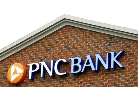 The logo above a PNC Bank is shown in Charlotte, North Carolina April 18, 2012. REUTERS/Chris Keane