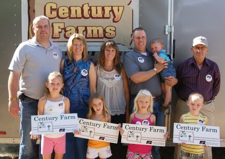 South Dakota Farm Bureau will again be honoring farm and ranch families who have owned their land for 100 years or more at the state fair. (sd.fb.org.)