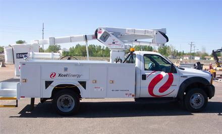 Xcel Energy Truck (KELO file)