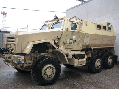 Caiman MRAP armored personnel carrier vehicle