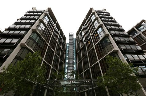 The development of One Hyde Park is seen London, May 2, 2014. REUTERS/Paul Hackett