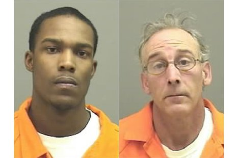 JaJuan Shaw (left), and David Dulek. (Photo from: Manitowoc County Jail).