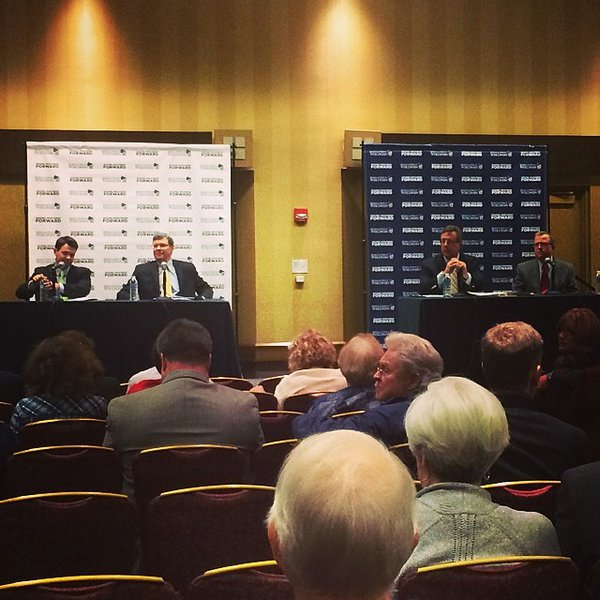 Jerry Bader on the Media Panel at the Wisconsin Republican Convention