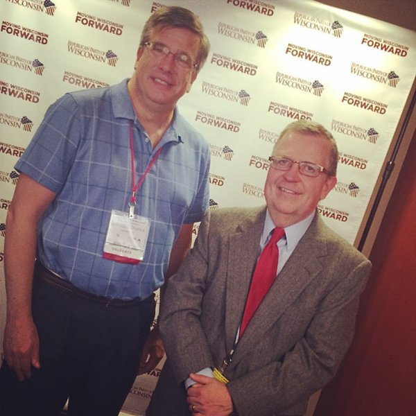 Representative John Nygren at the Wisconsin Republican Convention