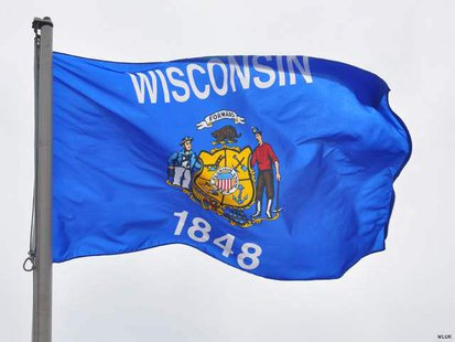 Wisconsin State Flag (Photo from: FOX 11).