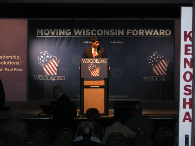 Congressman Paul Ryan at the Wisconsin Republican Convention in Milwaukee