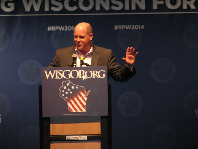Congressman Reid Ribble at the Wisconsin Republican Convention in Milwaukee