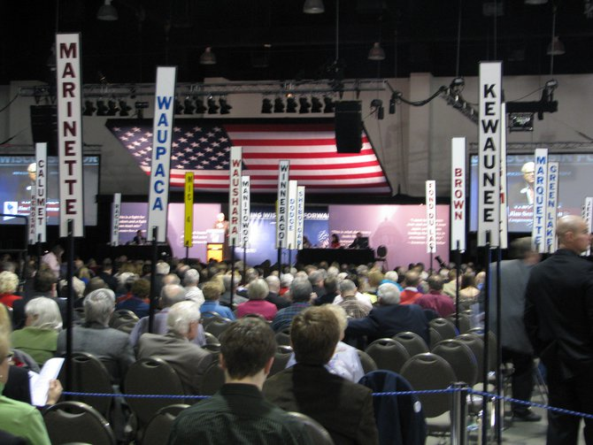 Wisconsin Republican Convention in Milwaukee