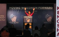 Jerry Bader at the Wisconsin Republican Convention 1