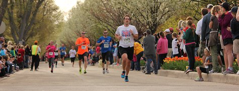 Tulip Time Run 2014