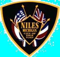 Niles, Michigan is located across the Indiana border from South Bend.