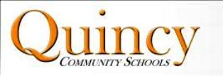 Quincy Community Schools logo