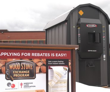 Wisconsin Public Service and American Lung Association team up to provide grants for wood stove replacements (provided by WPS)