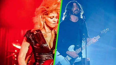 Image courtesy of Courtesy Courtney Love via Instagram/Foo Fighters via Instagram (via ABC News Radio)