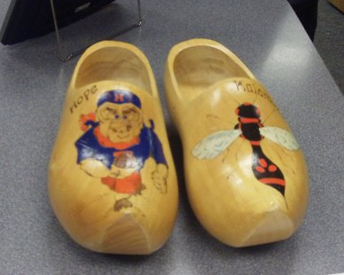 wooden shoes Tulip Time