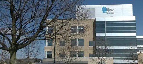 Photo of Children's Hospital of the Fox Valley in Neenah (Photo from: FOX 11/YouTube).