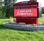 Coldwater School District's Lakeland Elementary sign