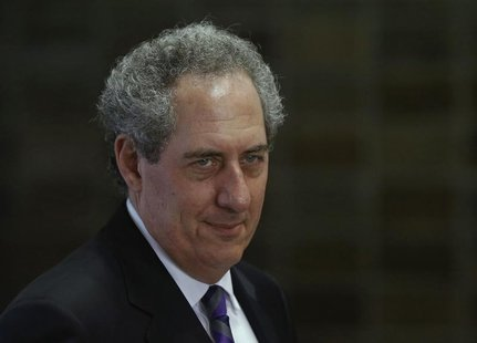 U.S. Trade Representative Michael Froman arrives for a meeting with Japan's Economics Minister Akira Amari in Tokyo April 10, 2014. REUTERS/