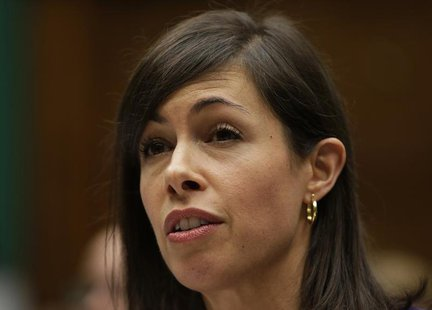 FCC Commissioner Jessica Rosenworcel testifies before the House Communications and Technology panel on Capitol Hill in Washington December 1