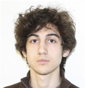 Dzhokhar Tsarnaev, suspect in the Boston Marathon explosion is pictured in this undated FBI handout photo. REUTERS/FBI/Handout